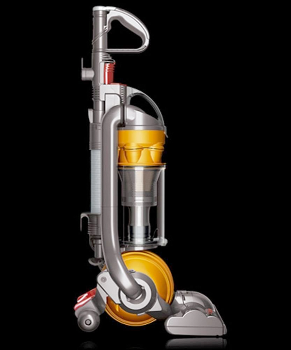 dyson dc24 ball all floors upright vacuum cleaner kitchen. Black Bedroom Furniture Sets. Home Design Ideas