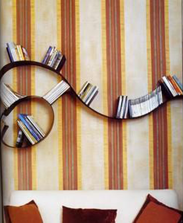 DesignApplause | Bookworm bookshelf. Ron arad.