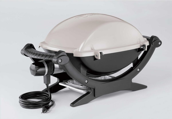 Designapplause weber q140 electric grill for Accessoires barbecue weber q140