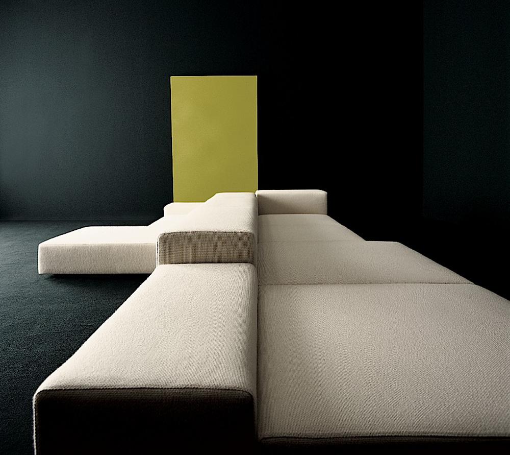 designapplause extra wall sofa piero lissoni