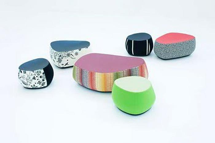 Designapplause Fjord Stone Stool Patricia Urquiola