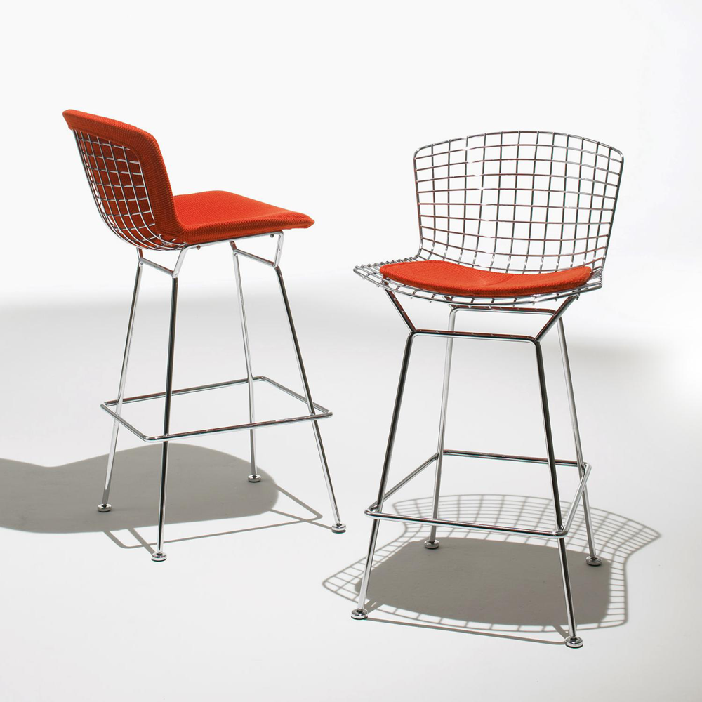DesignApplause  Bertoia bar stool. Harry bertoia.