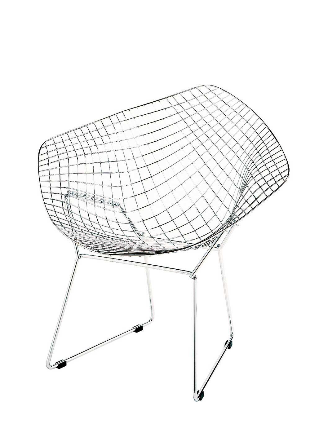 Designapplause bertoia diamond lounge chair harry bertoia