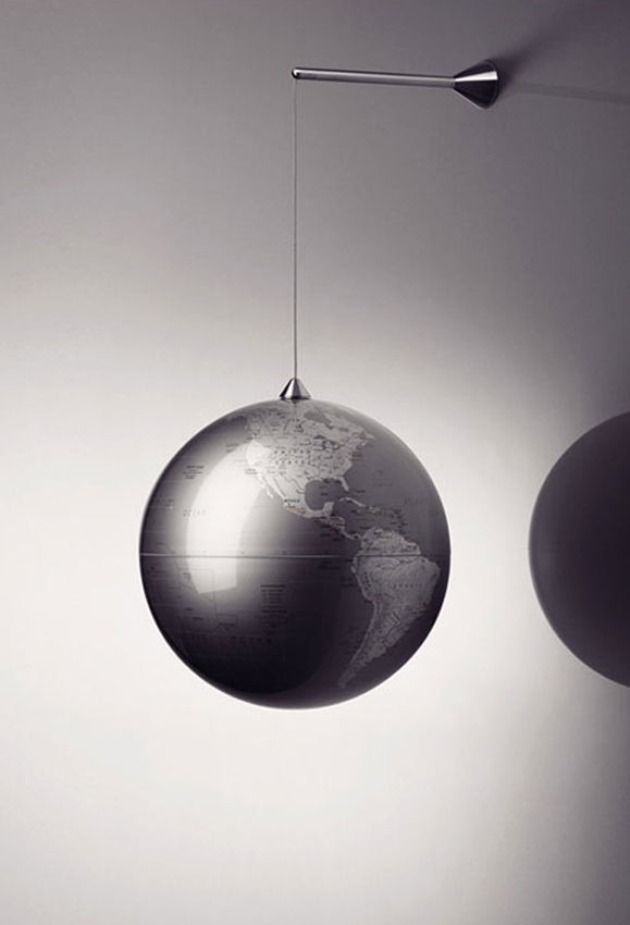 designapplause globe hanging jakob wagner and louise. Black Bedroom Furniture Sets. Home Design Ideas