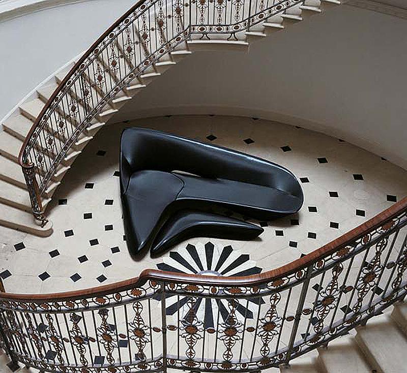 Zaha Hadid Furniture Designs: Moon System. Zaha Hadid