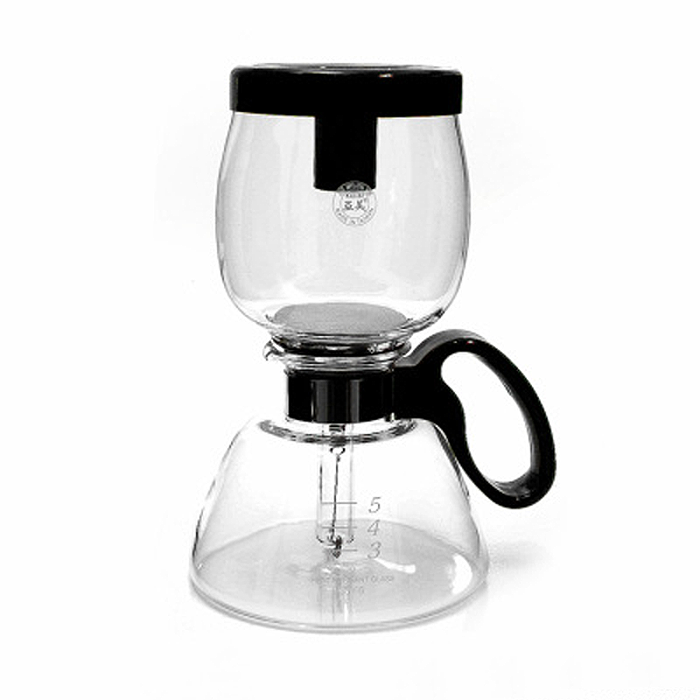 Siphon Coffee Maker How It Works : DesignApplause Yama stovetop coffee siphon. Northwest glass.