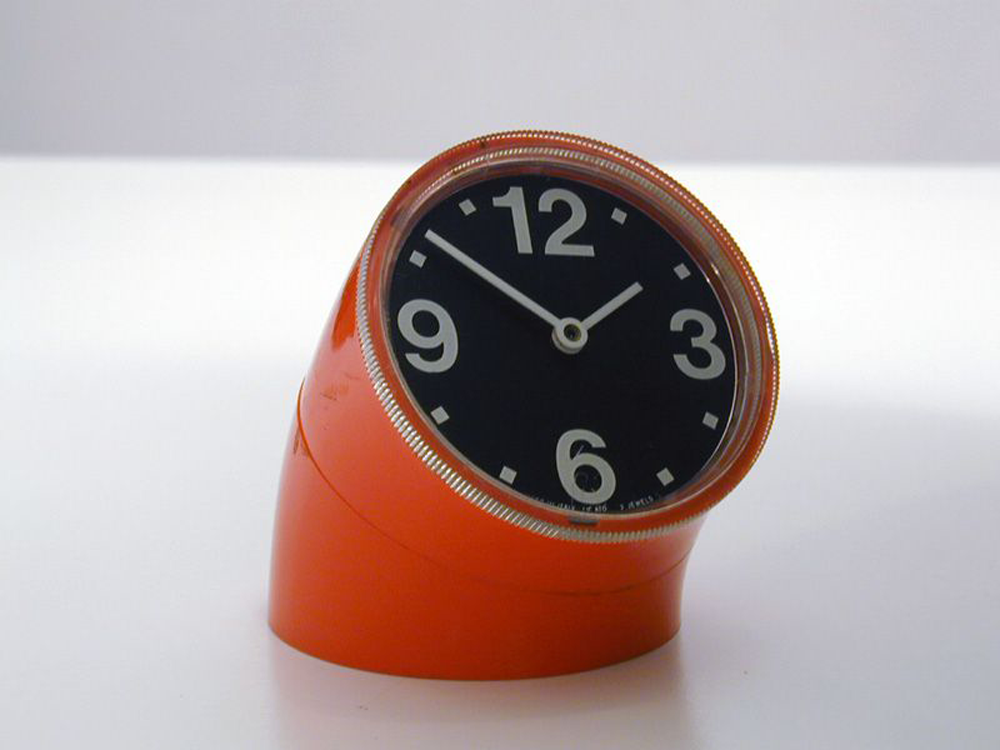 Designapplause Cronotime Desk Clock Pio Manzu