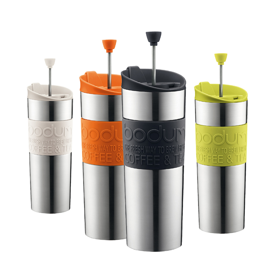 Travel Coffee Maker Press : DesignApplause Travel press coffee maker. Bodum.