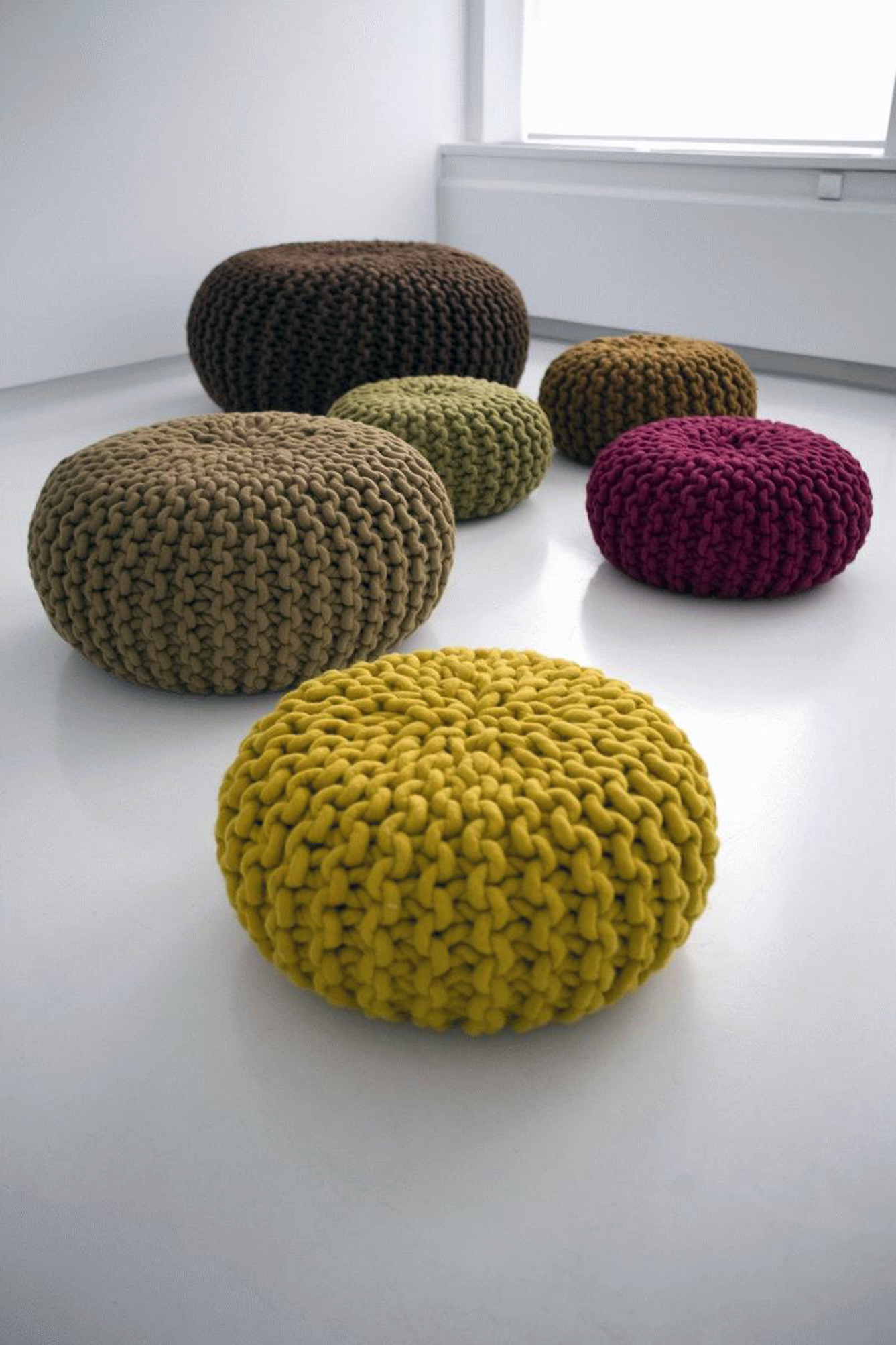 Designapplause Urchin Pouf Christien Meindertsma