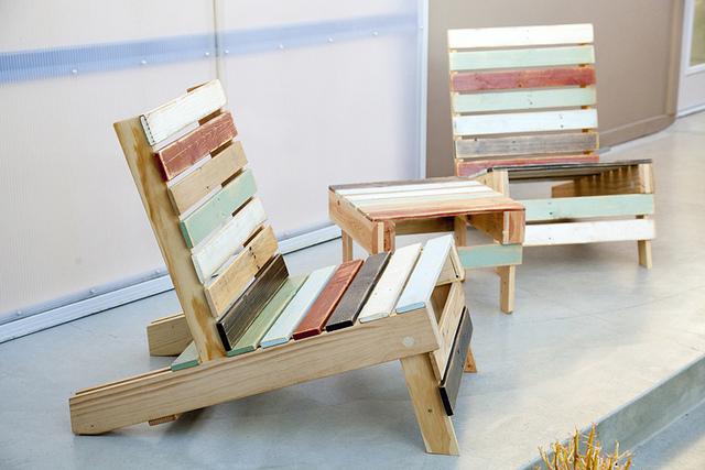 Designapplause Magnetic Pallet Chair Trevor Elliott