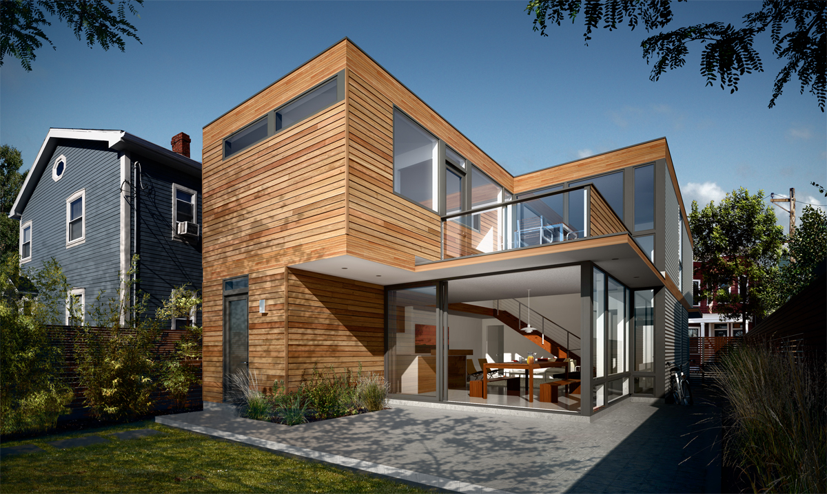 Designapplause td3 1890 turkel design - Contemporary modular home designs ...