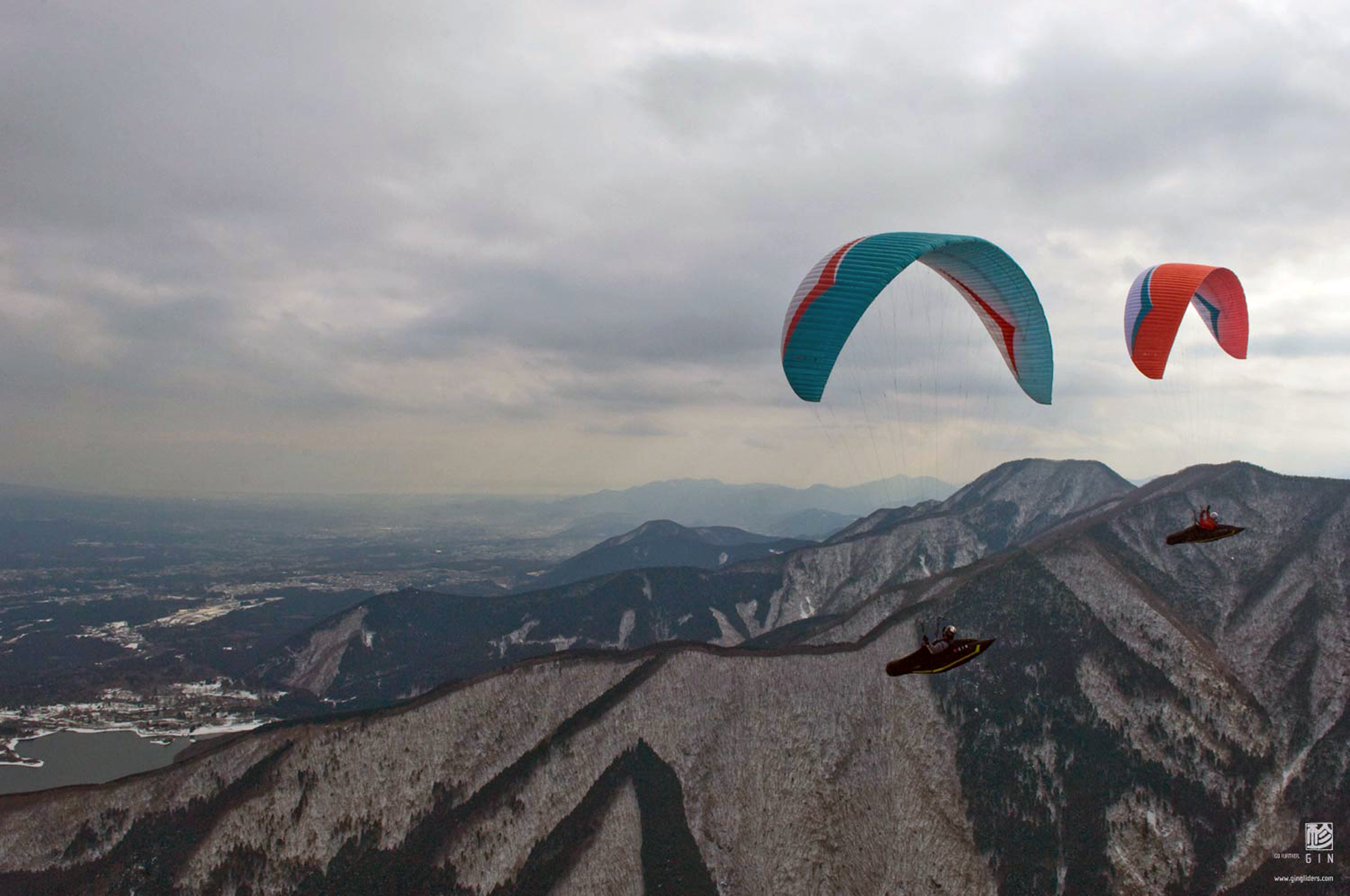 Designapplause Boomerang 8 Paraglider Gin Gliders