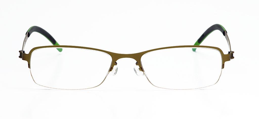 designapplause free form green eyewear trauth