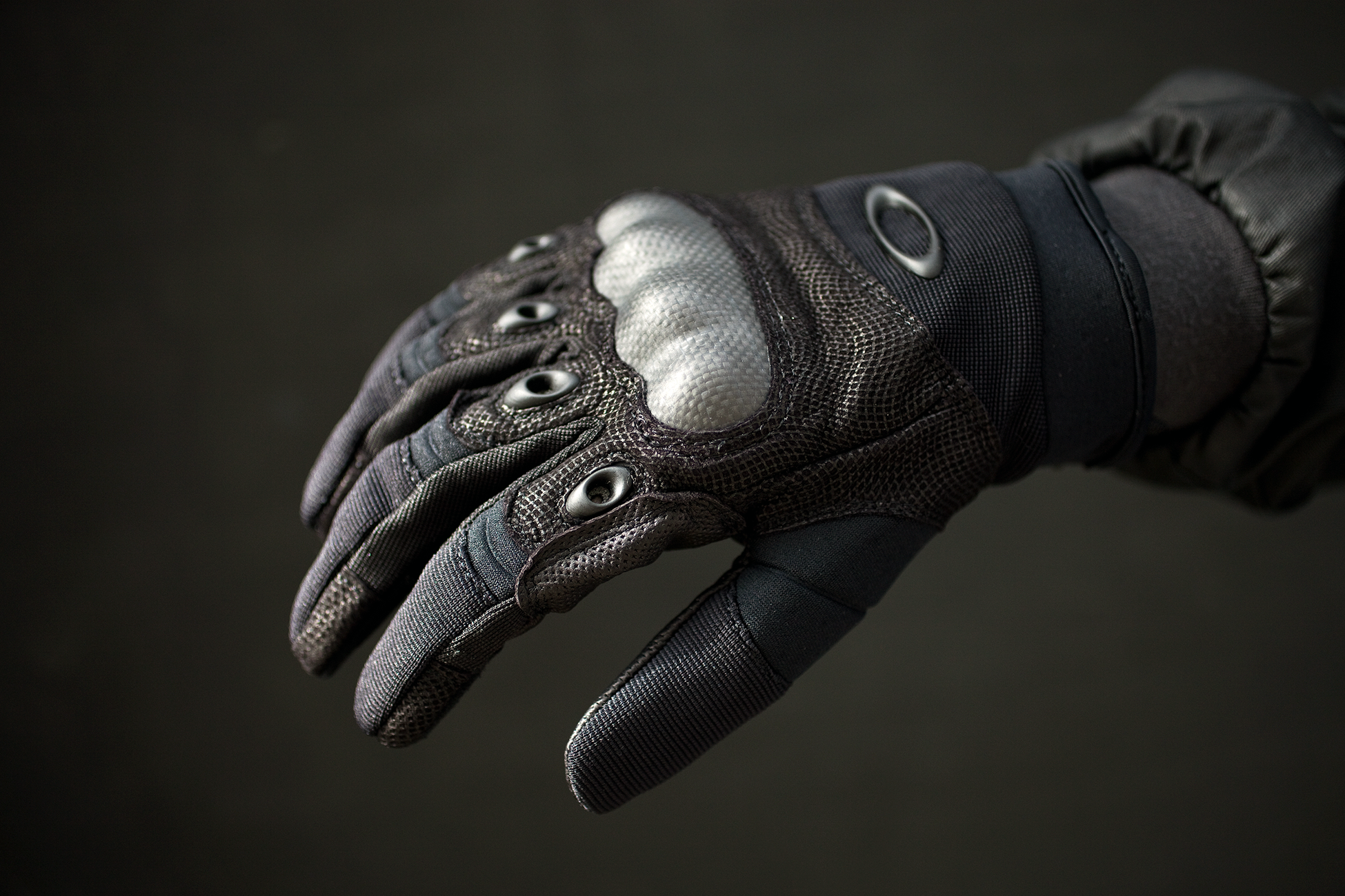 oakley leather motorcycle gloves
