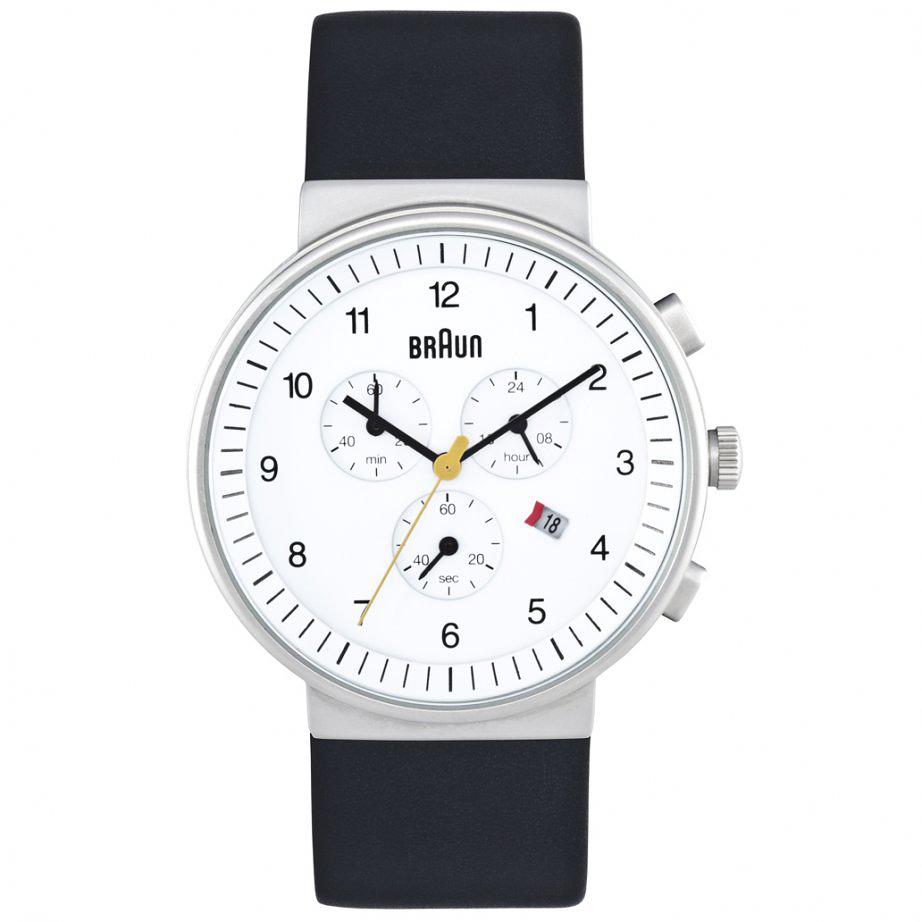 Designapplause Braun Chronograph Wristwatch Dieter Rams