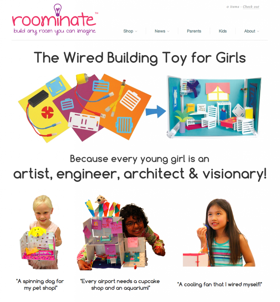Construction Toys For Girls : Designapplause wired building toys for girls roominate