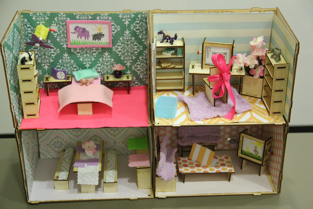Designapplause wired building toys for girls roominate for Casa delle bambole fai da te