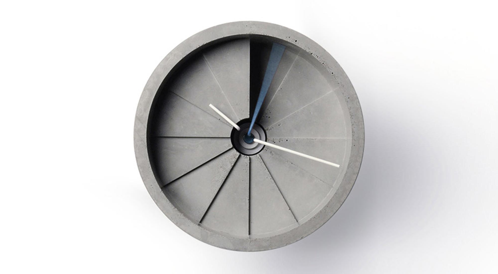 Designapplause 4th Dimension Concrete Wall Clock 22