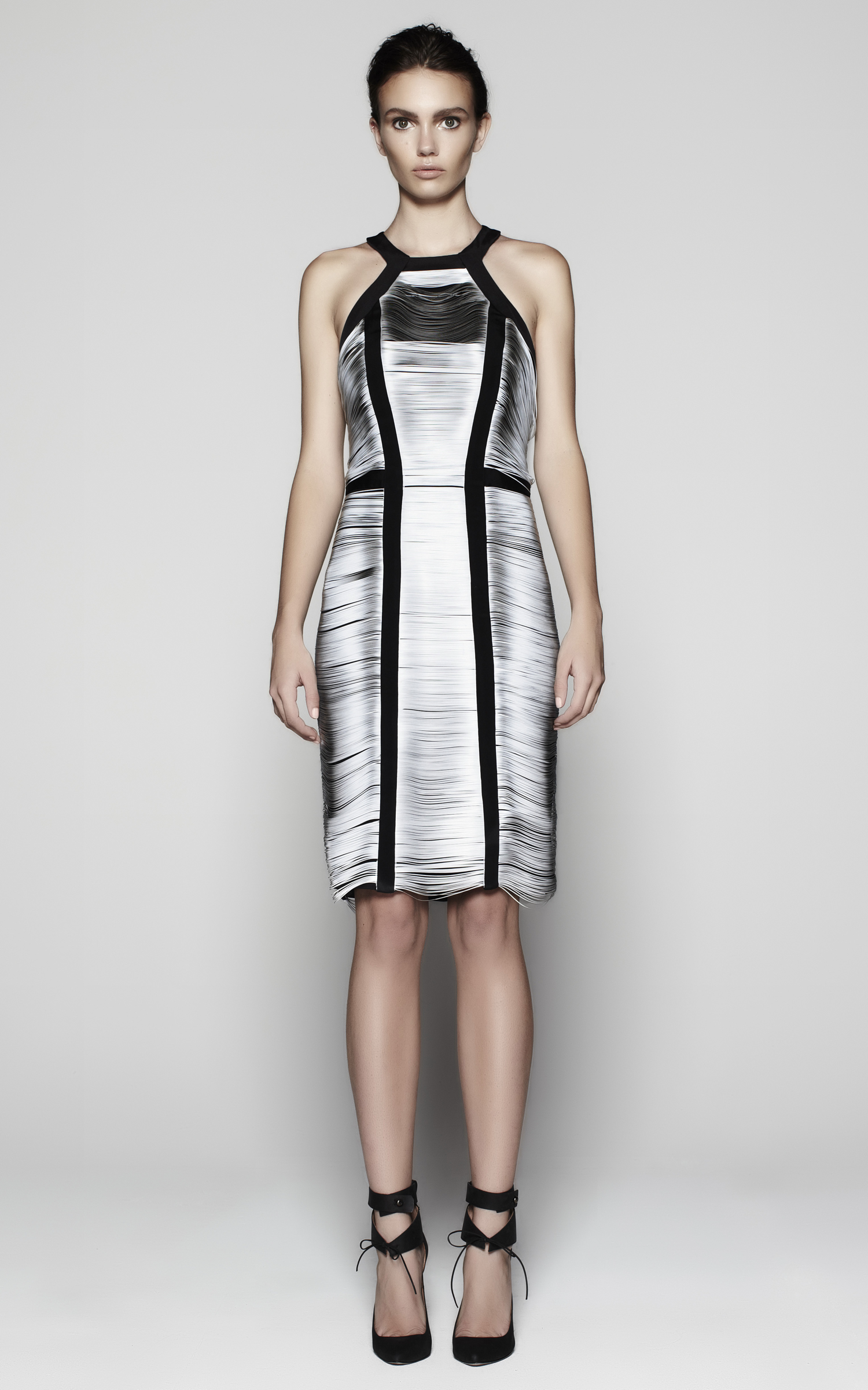 Designapplause Vein Sleeveless Dress Dion Lee