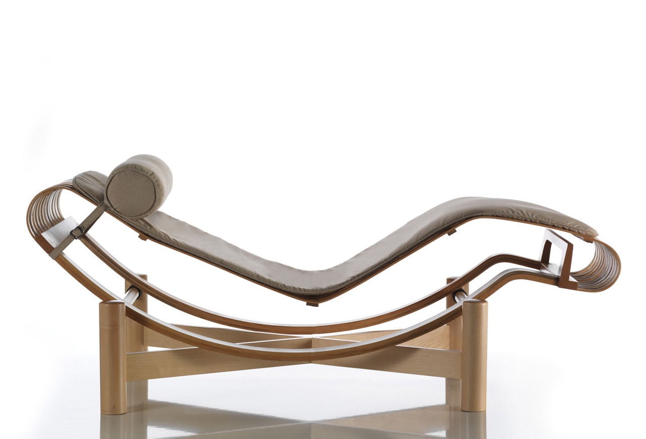 Outdoor Tokyo Chaise Longue Charlotte Perriand