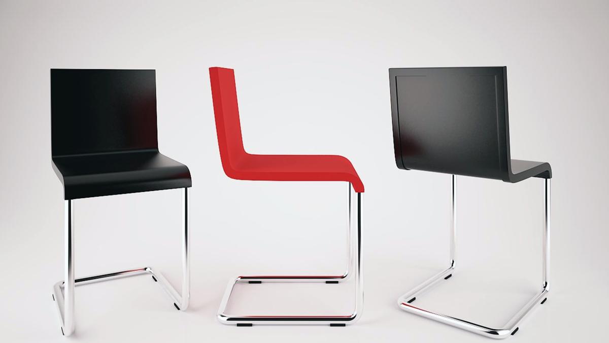 Designapplause 05 chair maarten van severen for Chair 03 maarten van severen