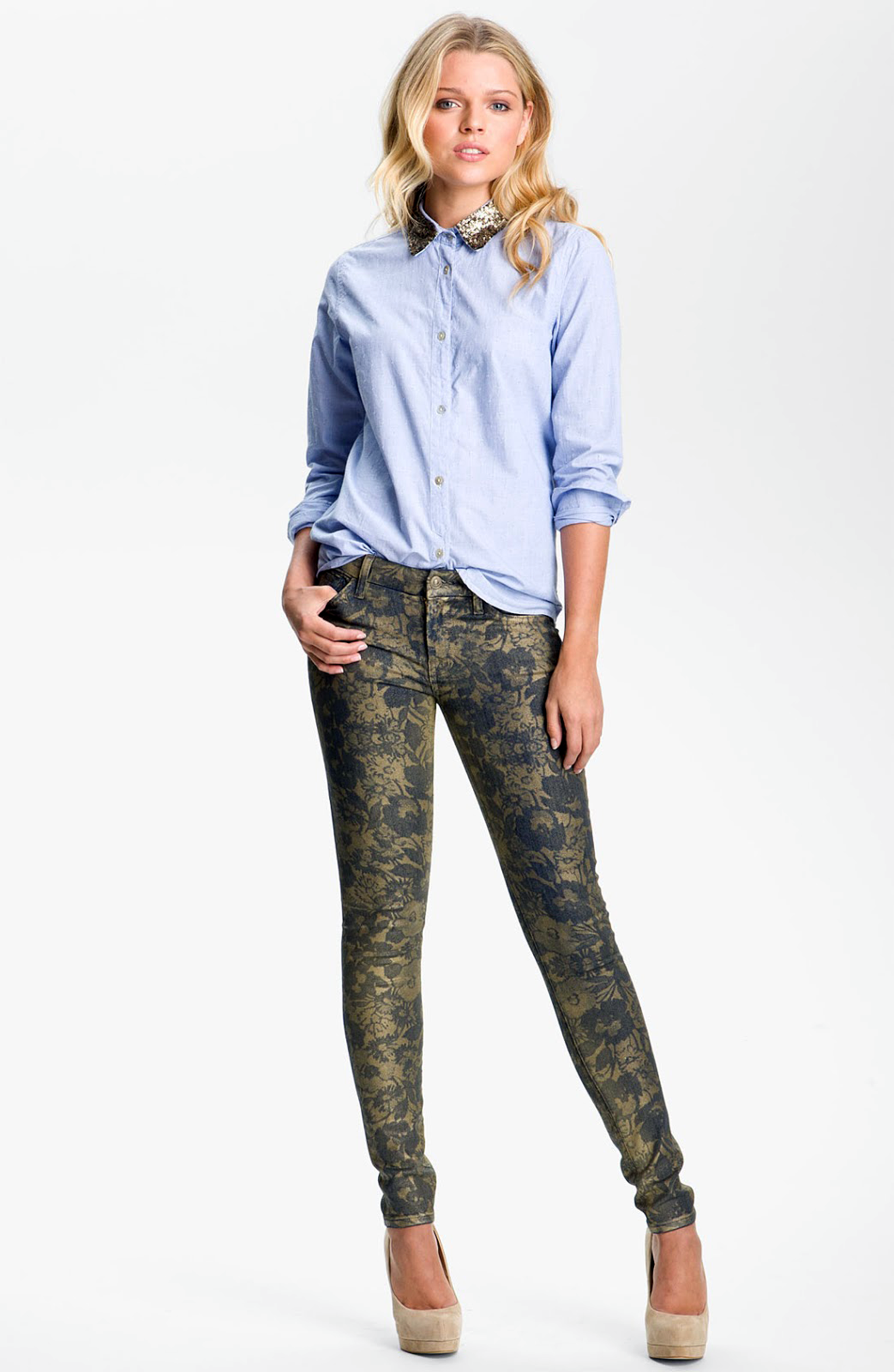 7 For All Mankind Karah Bootcut Jeans. Sale $ Orig $