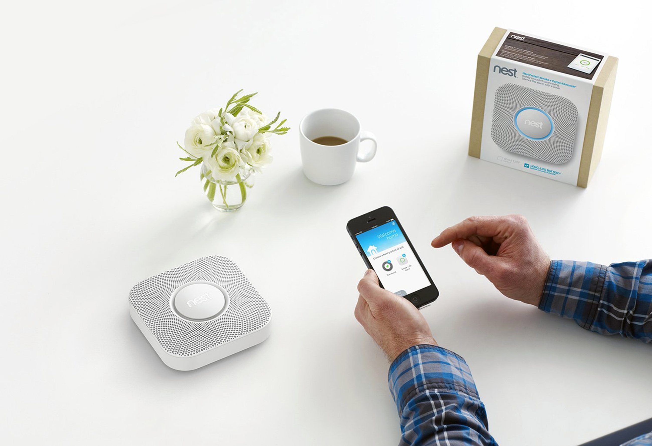 designapplause nest protect smoke alarm. Black Bedroom Furniture Sets. Home Design Ideas