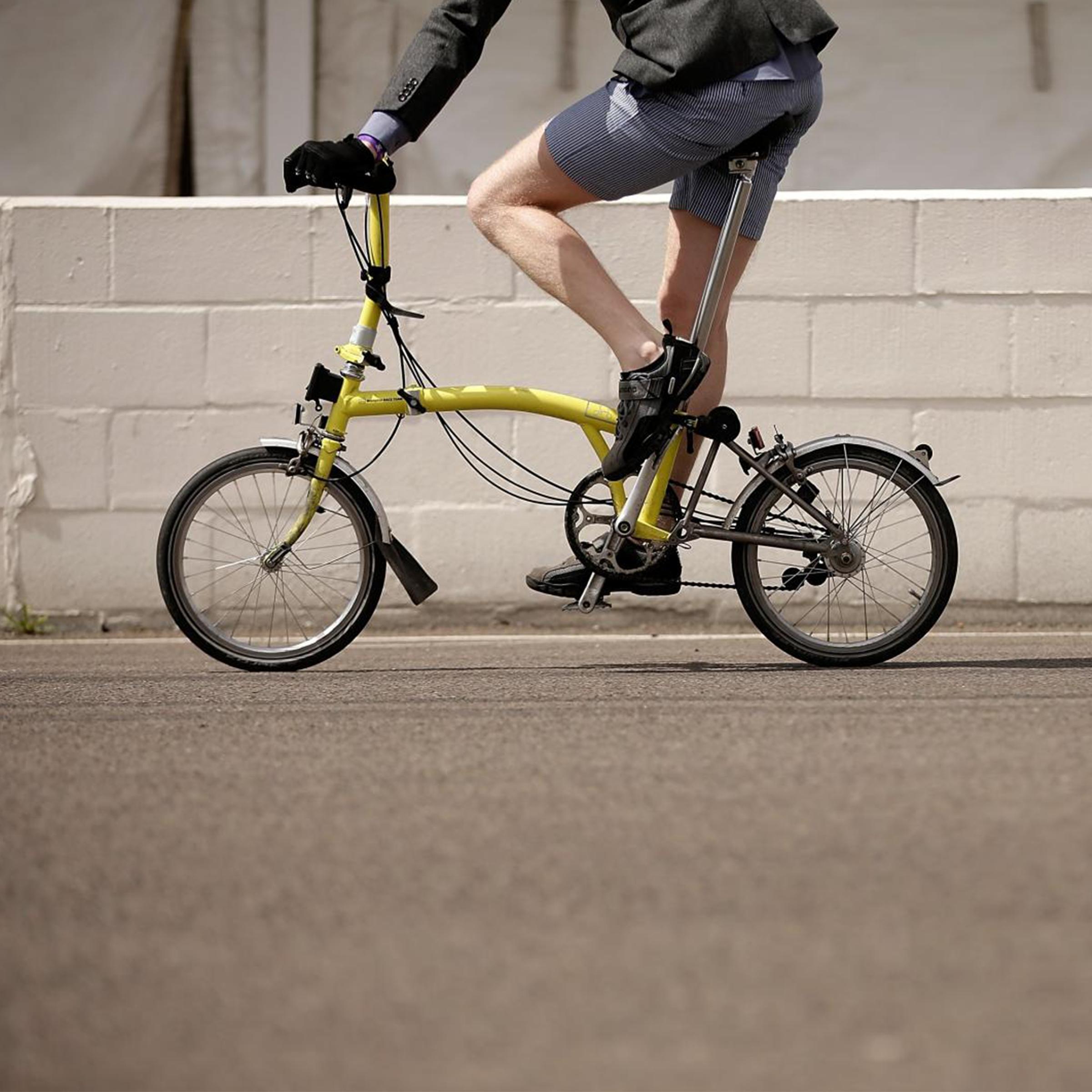 Designapplause Brompton Folding Bike