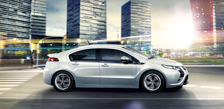 DesignApplause   Ampera electric car. Vauxhall.